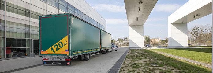 Zabudowa naczep i furgonów